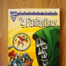 Cómics: LOS 4 FANTÁSTICOS Nº 3 (03) BIBLIOTECA MARVEL (BM) FORUM. Lote 189750205
