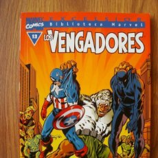 Cómics: LOS VENGADORES Nº 13 BIBLIOTECA MARVEL (BM) FORUM. Lote 189750832