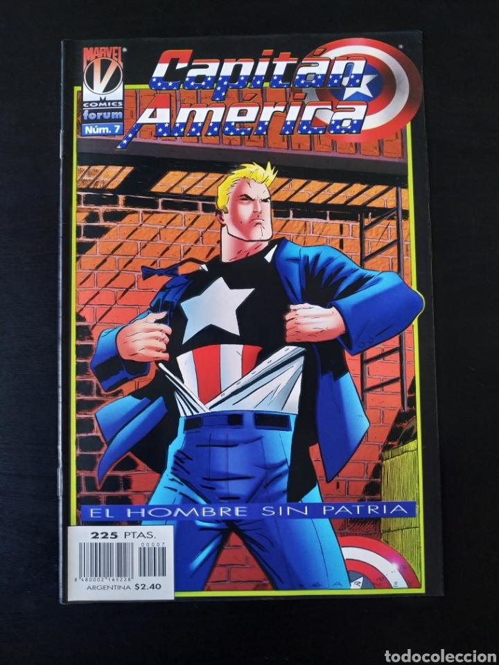 EXCELENTE ESTADO CAPITAN AMERICA 7 VOL III FORUM (Tebeos y Comics - Forum - Capitán América)