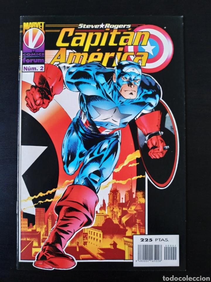 DE KIOSCO CAPITAN AMERICA 2 VOL III FORUM (Tebeos y Comics - Forum - Capitán América)