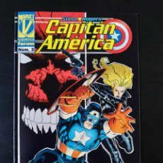 Cómics: DE KIOSCO CAPITAN AMERICA 3 VOL III FORUM. Lote 189808466