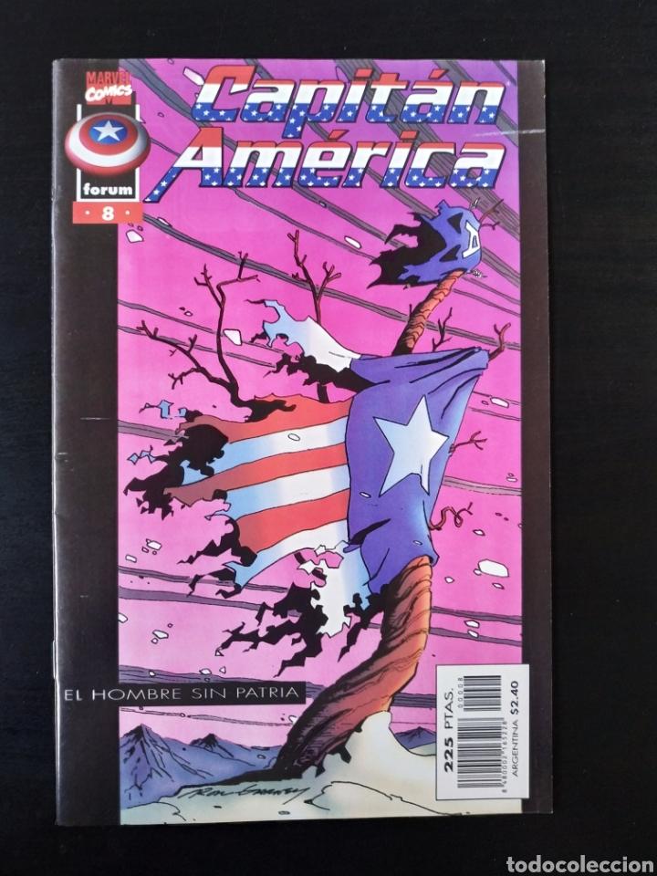EXCELENTE ESTADO CAPITAN AMERICA 8 VOL III FORUM (Tebeos y Comics - Forum - Capitán América)