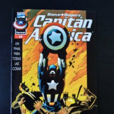 Cómics: EXCELENTE ESTADO CAPITAN AMERICA 10 VOL III FORUM. Lote 189808768
