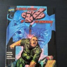 Comics : DE KIOSCO LA ULTIMA HISTORIA DE LOS VENGADORES 1 FORUM PRESTIGIO 9 TOMO. Lote 189816430