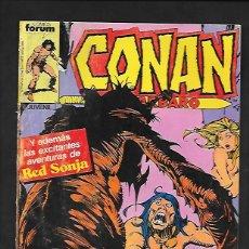 Cómics: CONAN EL BARBARO NUMERO 138. Lote 189900956