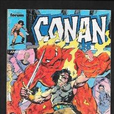 Cómics: CONAN EL BARBARO NUMERO 143. Lote 189902255