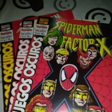 Cómics: SPIDERMAN FACTOR X JUEGOS OSCUROS SERIE LIMITADA FORUM. Lote 189908667
