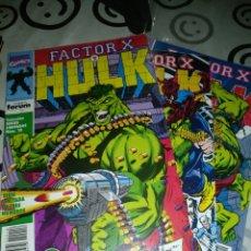 Cómics: FACTOR X Y HULK SERIE LIMITADA. Lote 189908675