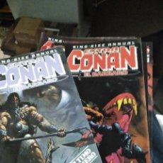 Comics : EXTRA CONAN EL BÁRBARO KING-SIZE ANNUAL COMPLETA 11 NÚMEROS FORUM. Lote 189969937