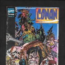 Cómics: CONAN NUMERO 3 SENDEROS DE SANGRE. Lote 189985543