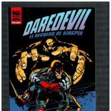 Comics : DAREDEVIL - EL REGRESO DE KINGPIN - NUEVO.. Lote 190012446
