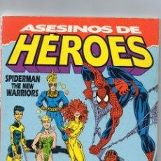 Cómics: ASESINOS DE HEROES - SPIDERMAN Y THE NEW WARRIORS - FORUM . Lote 190036900