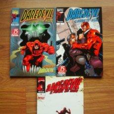 Comics : DAREDEVIL VOL. 3 Nº 1, 3 Y 4 COLECCIÓN CASI COMPLETA. Lote 190055336