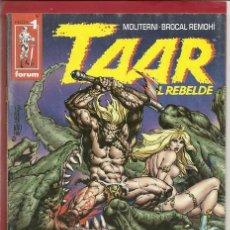 Cómics: TAAR EL REBELDE NUMERO 1 LOS HEROES DE LA FANTASIA HEROICA. Lote 190067296