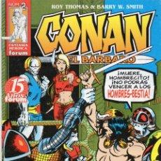 Cómics: CONAN EL BARBARO - EN LA CAVERNA DE LA MUERTE - Nº.2 - MBE. Lote 190096413