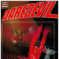 Cómics: DAREDEVIL - LOVE AND WAR - AMOR Y GUERRA - FRANK MILLER. FORUM,1992. NUEVO.. Lote 190181525