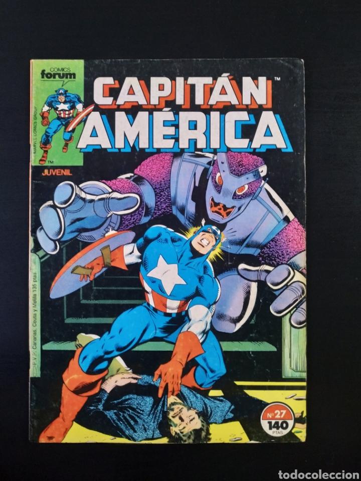 MUY BUEN ESTADO CAPITAN AMERICA 27 FORUM (Tebeos y Comics - Forum - Capitán América)