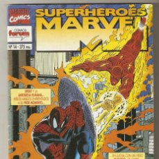 Cómics: SUPERHEROES MARVEL - Nº 14 - SPIDERMAN Y LA ANTORCHA HUMANA - MAYO 1995 - FORUM -. Lote 190224261
