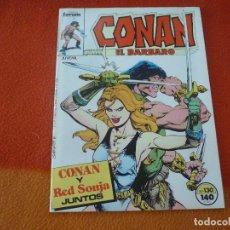 Cómics: CONAN EL BARBARO VOL. 1 Nº 130 ¡MUY BUEN ESTADO! MARVEL FORUM. Lote 190347077