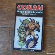 Cómics: CONAN Nº 1 EL ORIGEN DE UNA LEYENDA EDICIONES FORUM NOVELA . Lote 190349752