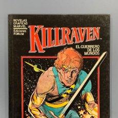 Cómics: KILLRAVEN - NOVELA GRAFICA - FORUM 1983. Lote 190408101