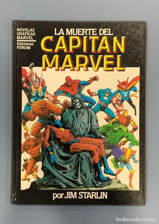 LA MUERTE DEL CAPITÁN MARVEL - NOVEL GRÁFICA - COMICS FORUM (Tebeos y Comics - Forum - Prestiges y Tomos)