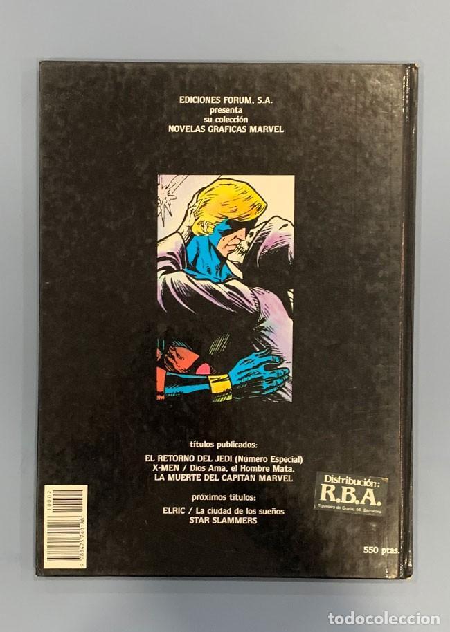 Cómics: La muerte del Capitán Marvel - Novel Gráfica - Comics Forum - Foto 2 - 190408220