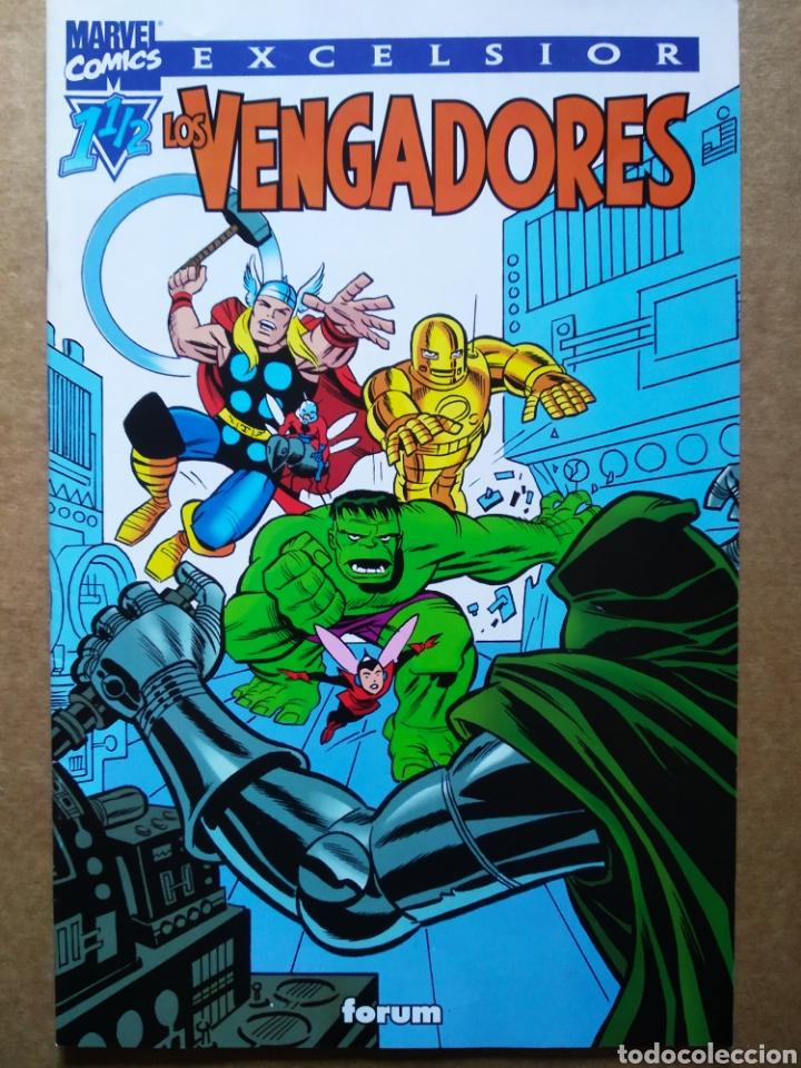 LOS VENGADORES 1-½, POR ROGER STERN Y BRUCE TIMM (FORUM EXCELSIOR, 2002). 32 PÁGINAS A COLOR. (Tebeos y Comics - Forum - Vengadores)