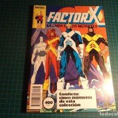 Comics : TOMO FACTOR X. CONTIENE LOS NUMEROS 21 A 25. (REF.01).. Lote 190431537