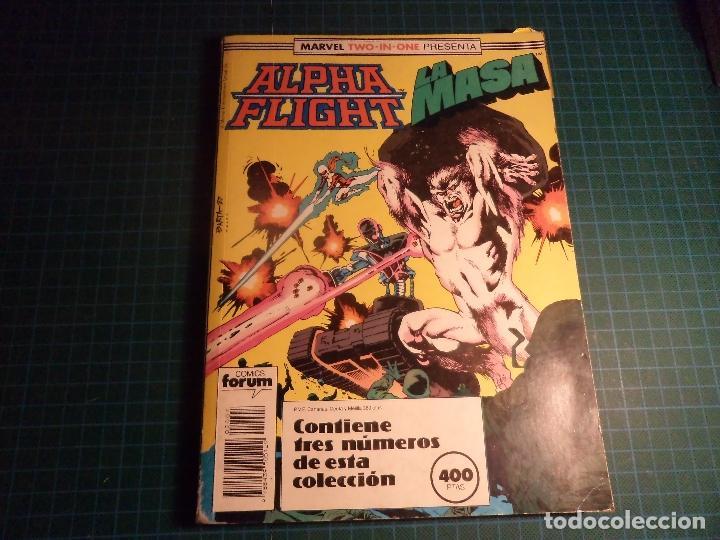 TOMO MARVEL TWO IN ONE. CONTIENE LOS NUMEROS 45 A 47. (REF.01). (Tebeos y Comics - Forum - Factor X)
