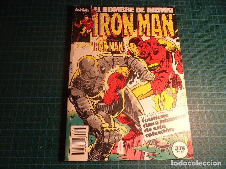 TOMO IRON MAN. CONTIENE LOS NUMEROS 36 A 40. (REF.01). (Tebeos y Comics - Forum - Factor X)