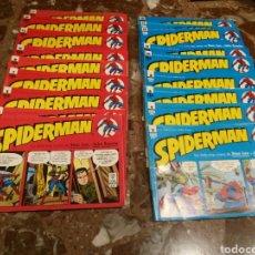 Cómics: SPIDERMAN DAILY STRIP COMIC. 1 AL 18 CUADERNOS. Lote 190457003