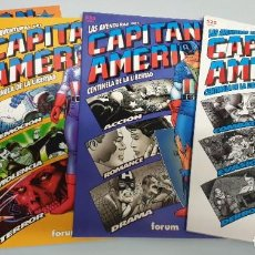 Cómics: LAS AVENTURAS DEL CAPITAN AMERICA : CENTINELA DE LA LIBERTAD ¡ COMPLETA 4 NUMEROS ! MARVEL - FORUM. Lote 190457316
