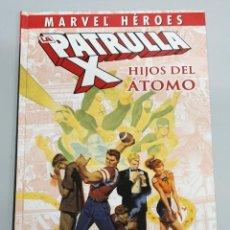 Cómics: LA PATRULLA-X HIJOS DEL ATOMO / MARVEL HEROES / PANINI. Lote 190458415