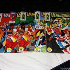 Cómics: LOS VENGADORES FORUM N 1 2 4 5 PRIMERAS EDICIONES. Lote 190514332