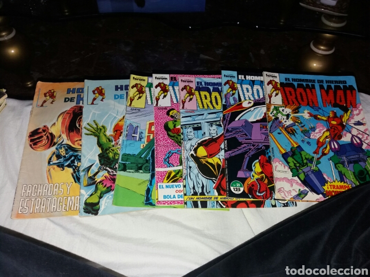 IRONMAN FORUM 7 CUADERNOS (Tebeos y Comics - Forum - Iron Man)