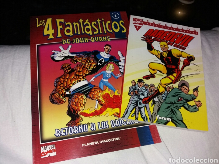 MARVEL COMICS. 4 FANTASTICOS. DAREDEVIL (Tebeos y Comics - Forum - 4 Fantásticos)