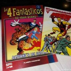 Cómics: MARVEL COMICS. 4 FANTASTICOS. DAREDEVIL. Lote 190515782