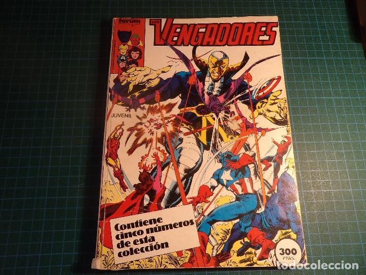 TOMO LOS VENGADORES. CONTIENE LOS NUMEROS 21 AL 25. (REF.003) (Tebeos y Comics - Forum - Retapados)