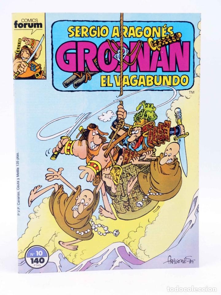 Cómics: GROONAN EL VAGABUNDO 1 2 3 4 5 6 10. LOTE DE 7 (Sergio Aragonés) Forum, 1987. OFRT - Foto 5 - 232678560