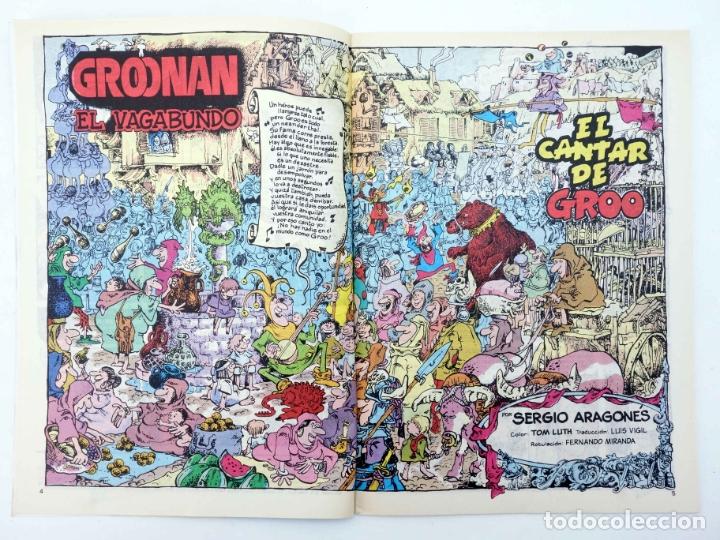 Cómics: GROONAN EL VAGABUNDO 1 2 3 4 5 6 10. LOTE DE 7 (Sergio Aragonés) Forum, 1987. OFRT - Foto 7 - 232678560