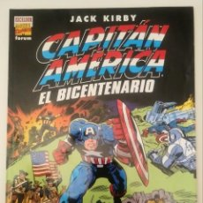 Cómics: CAPITAN AMERICA. EL BICENTENARIO. JACK KIRBY. FORUM. Lote 206756055