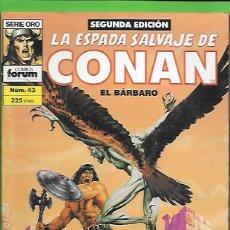 Cómics: LA ESPADA SALVAJE DE CONAN EL BARBARO NUMERO 43. Lote 190571165