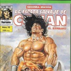 Cómics: LA ESPADA SALVAJE DE CONAN EL BARBARO NUMERO 42. Lote 190571250
