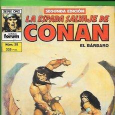 Cómics: LA ESPADA SALVAJE DE CONAN EL BARBARO NUMERO 38. Lote 190571417