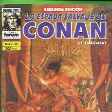 Cómics: LA ESPADA SALVAJE DE CONAN EL BARBARO NUMERO 25. Lote 190573912