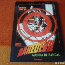 Cómics: DAREDEVIL GUERRA DE BANDAS ( MILLER ) ¡MUY BUEN ESTADO! OBRAS MAESTRAS 19 FORUM MARVEL. Lote 190574931