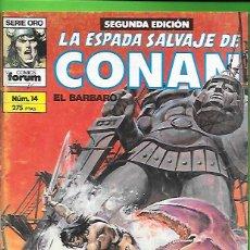Cómics: LA ESPADA SALVAJE DE CONAN EL BARBARO NUMERO 14. Lote 190589042