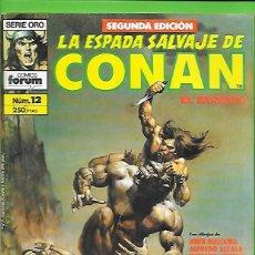 Cómics: LA ESPADA SALVAJE DE CONAN EL BARBARO NUMERO 12. Lote 190589606