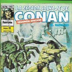 Cómics: LA ESPADA SALVAJE DE CONAN EL BARBARO NUMERO 11. Lote 190589865